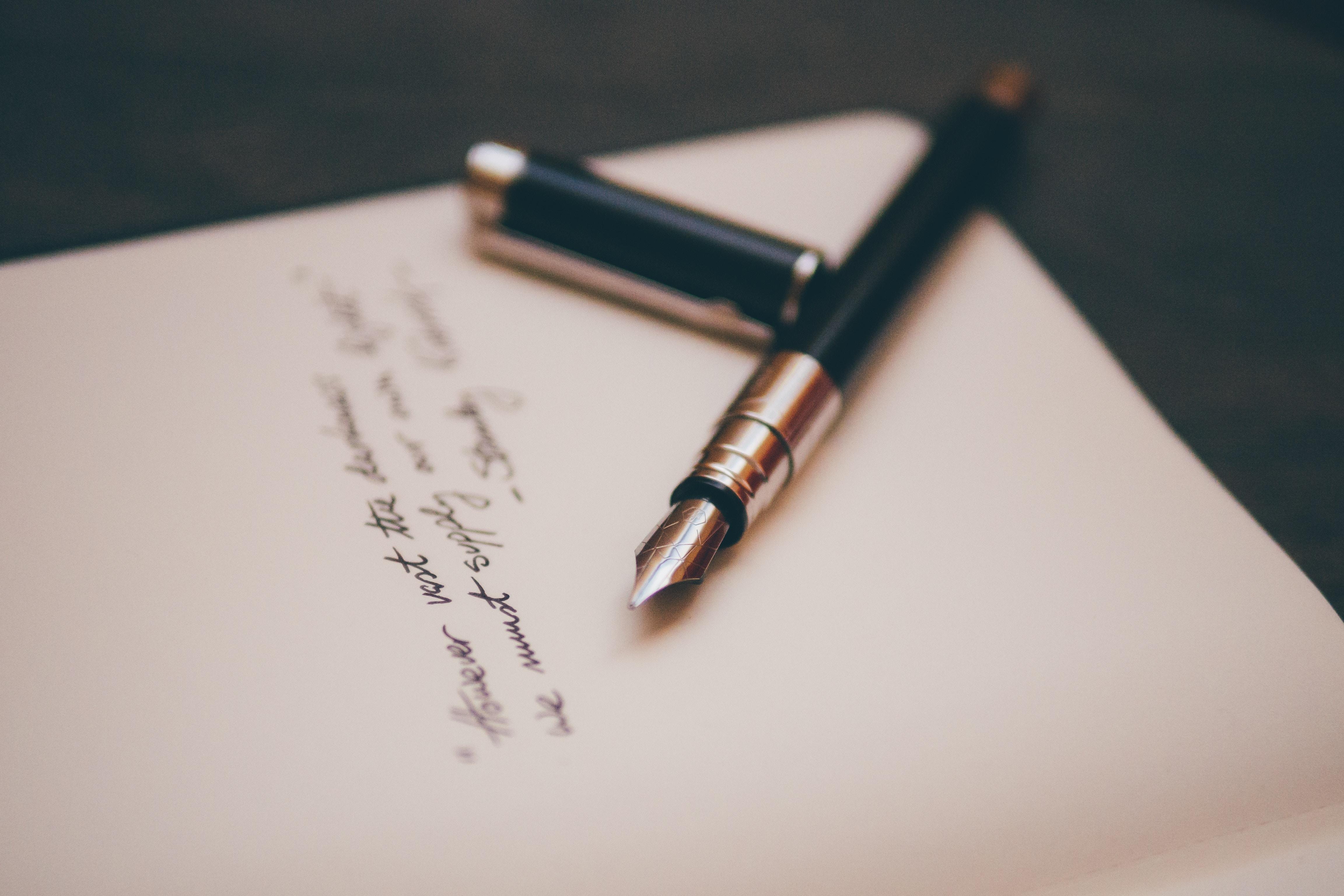 עט שחור